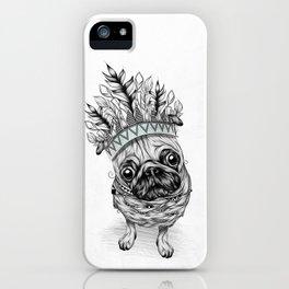 Indian Pug iPhone Case