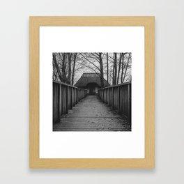 witch's cottage... Framed Art Print