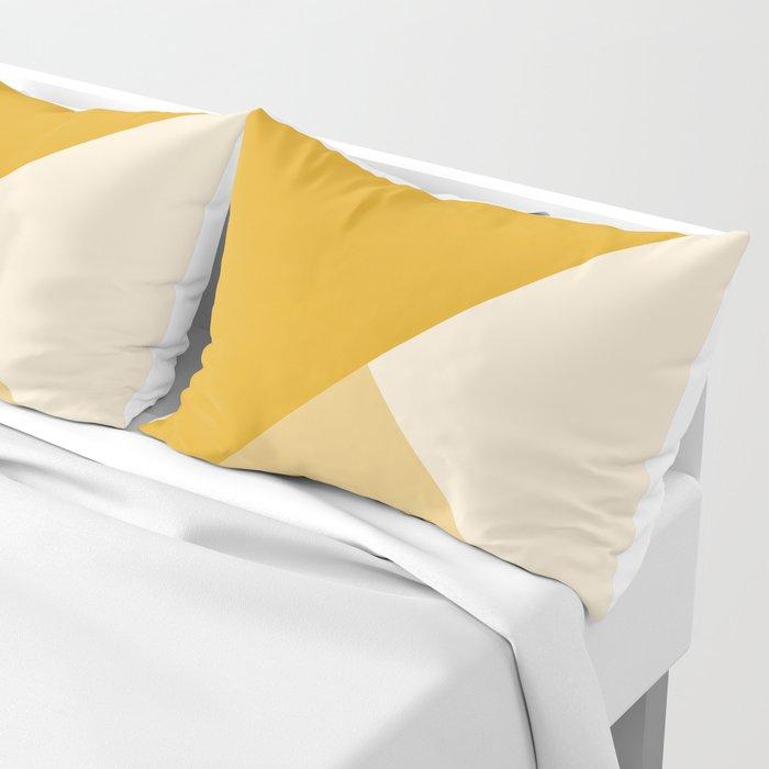 Mustard Tones Pillow Sham