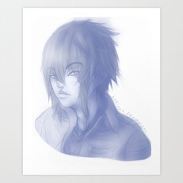 Noctis Portrait Art Print
