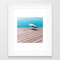 mew Framed Art Prints featuring Mew by Pawel Nolbert / nolbert.com