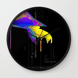 anomaly in sector KRC2496 Wall Clock