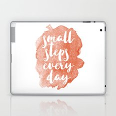 Small steps everyday Laptop & iPad Skin