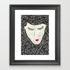 that all elusive peace of mind Framed Art Print