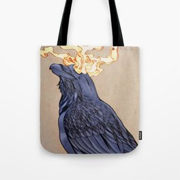 The Shadow Raven Tote Bag