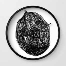 In a nutshell Wall Clock
