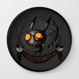Pocket Monster #025 Wall Clock