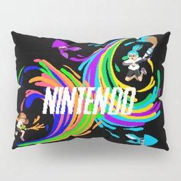 Pixel Splatoon Pillow Sham
