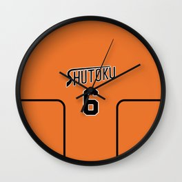 Midorima's Jersey Wall Clock