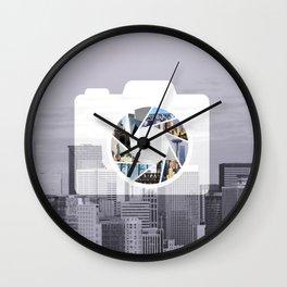 Capture the City Wall Clock