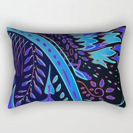indigo fire Rectangular Pillow