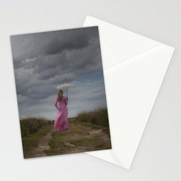 Waiting for the rain Stationery Cards