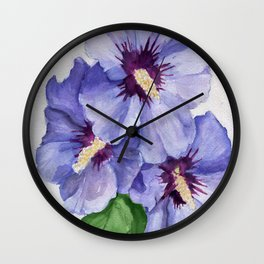 Blue Menage Wall Clock