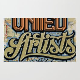 United Artists Poster 1 Rug