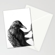 Crow and the Moon 3 Stationery Cards