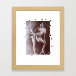 Josephine Baker - Banana Skirt Framed Art Print