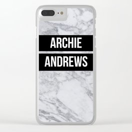 Riverdale - Archie Andrews Clear iPhone Case