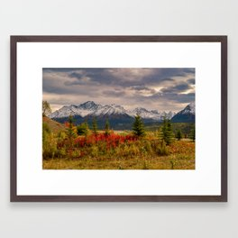 Seasons Turning Framed Art Print