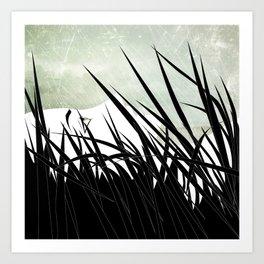 The Grass Art Print