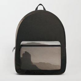 Enjoy The Moment - Landscape and Nature Photograph Backpack