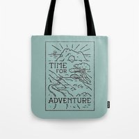 Time For Adventure Tote Bag