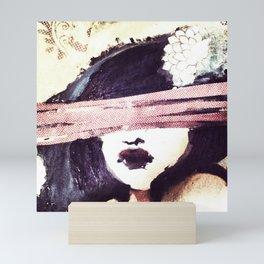 Portrait 117 Mini Art Print