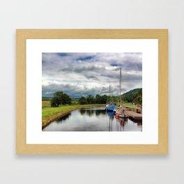 Crinan Canal Framed Art Print
