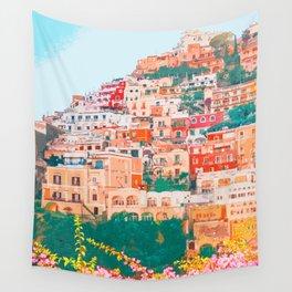 Positano, beauty of Italy Wall Tapestry