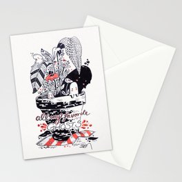 All my favorite ghosts Stationery Cards