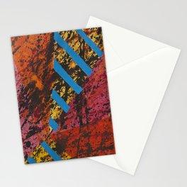Corner Splatter # 8 Stationery Cards