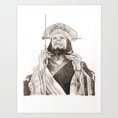 Lo Pan Art Print