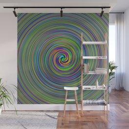 Phosphorus waves Wall Mural
