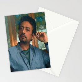 """Irrfan Khan as Robert in """"Puzzle"""" Stationery Cards"""