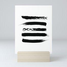 Brushes Mini Art Print