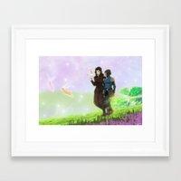 korrasami Framed Art Prints featuring Korrasami by JoGoNeXX
