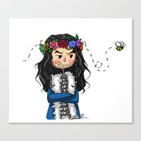 thorin Canvas Prints featuring Thorin by marvelsoo