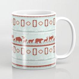 Mountain Spirit Animals Coffee Mug