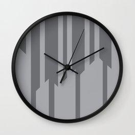playing shadows Wall Clock