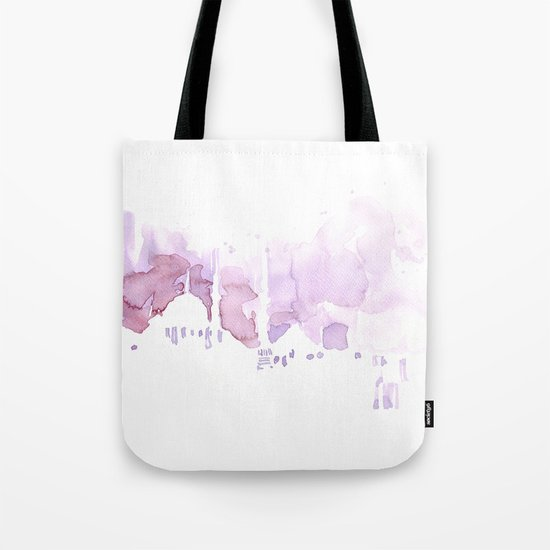 Watercolor landscape illustration_Istanbul Tote Bag