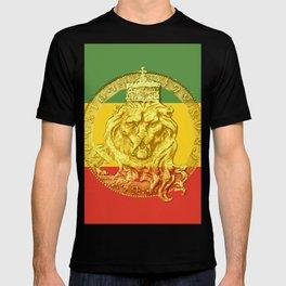 Conquering Lion of Judah Reggae Master T-shirt