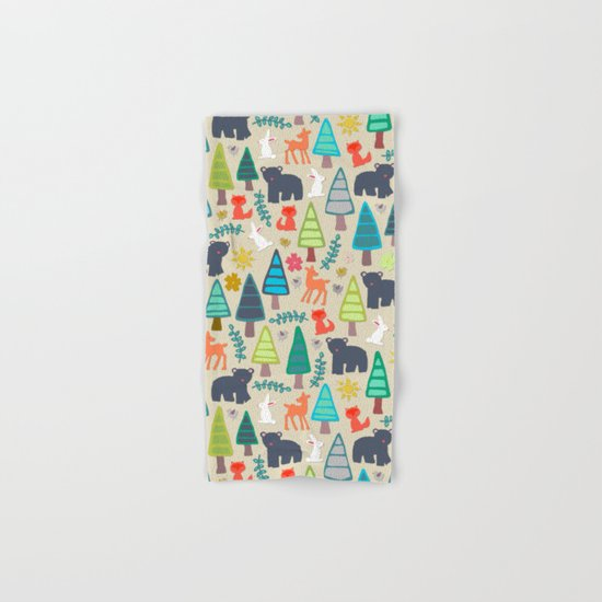 summer woodland Hand & Bath Towel