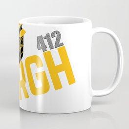 Pittsburgh 'Burgh Incline 412 Print Coffee Mug