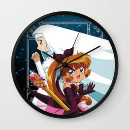 Saint Tail Wall Clock