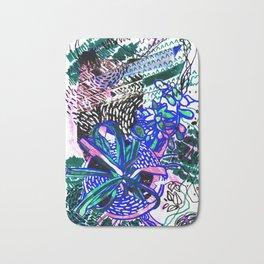 Spider Plant and Succulent Bath Mat