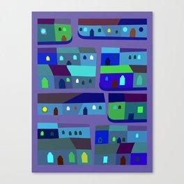 Tepito de Azul Canvas Print