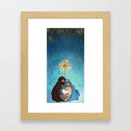 Christmas Nativity - Prince of Peace Framed Art Print