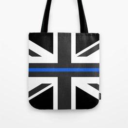 Thin Blue Line UK Flag Tote Bag
