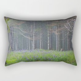 Lupines At The Forest's Edge Rectangular Pillow