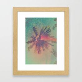 NEON SUMMER Framed Art Print