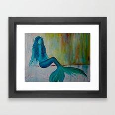 Landlocked Framed Art Print
